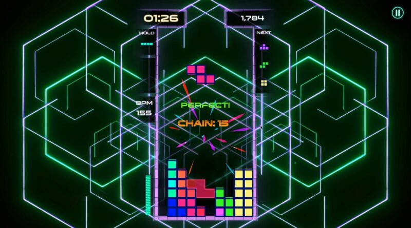 Puzzle au rythme du nouveau 'Tetris Beat'