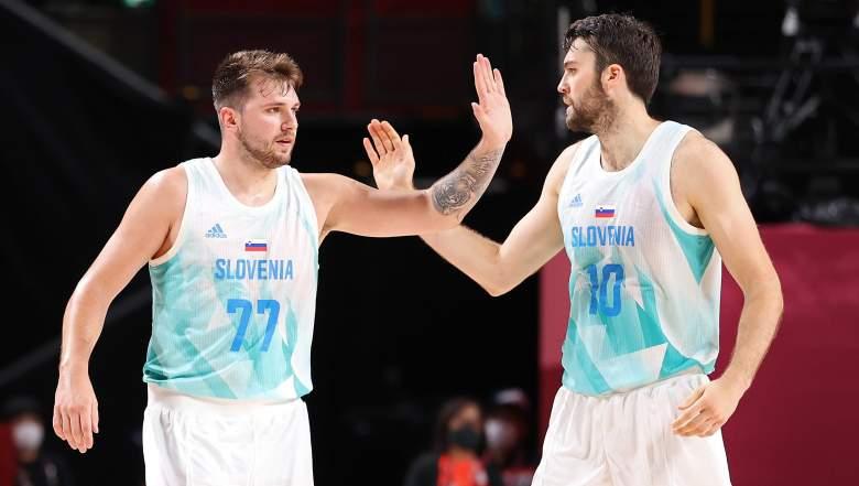 Montre de basket-ball Espagne Slovénie