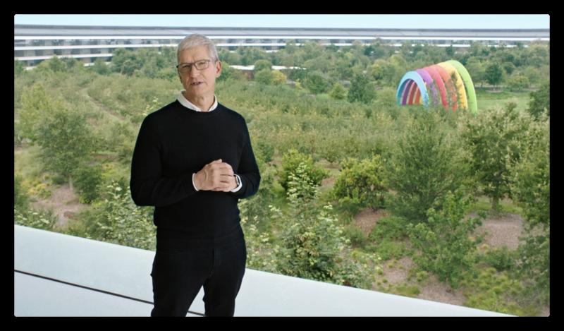 Tim Cook Apple Park Contexte