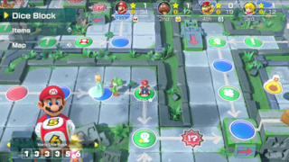 un autre membre de la communauté est-il venu à Mario Party?