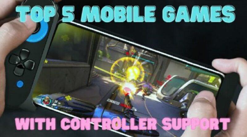 Top 5 des jeux mobiles avec prise en charge du contrôleur