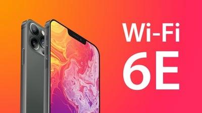 Mise à jour de la fonctionnalité iPhone 13 Wi Fi 6E