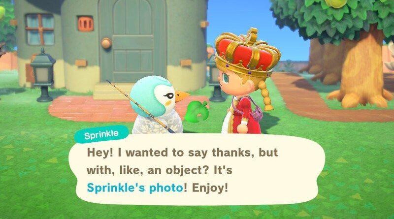Animal Crossing: New Horizons - Comment obtenir une photo encadrée de votre villageois