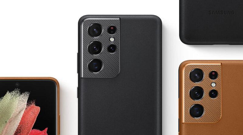 Les meilleurs étuis et coques Samsung Galaxy S21