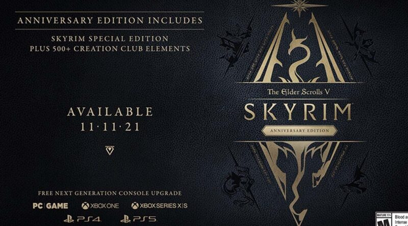 Bethesda annonce The Elder Scrolls V Skyrim sur PS5 et Xbox Series