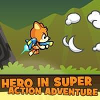 Héros dans l'aventure super action