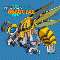 Jouet Jurassique Robot Abeille