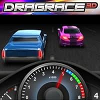 Course de dragsters 3D