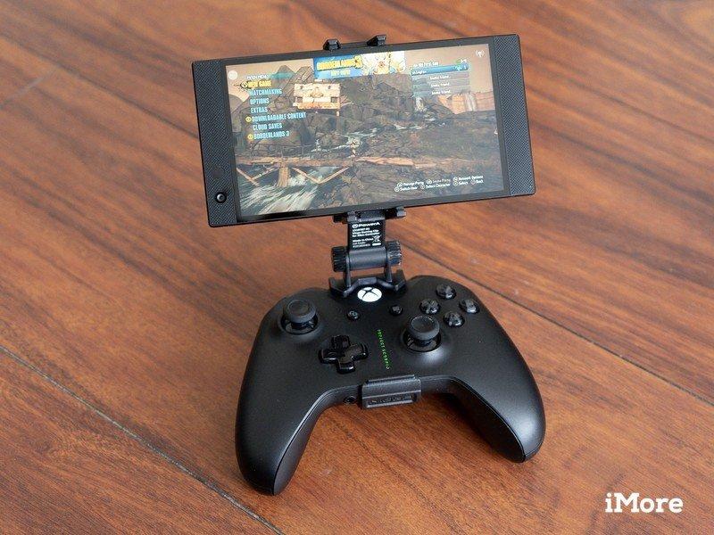 Clip de jeu mobile Powera Moga sur table