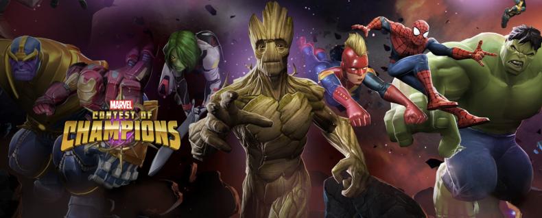 Concours de champions Marvel