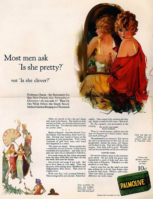 23 publicités anciennes qui seraient interdites aujourd'hui