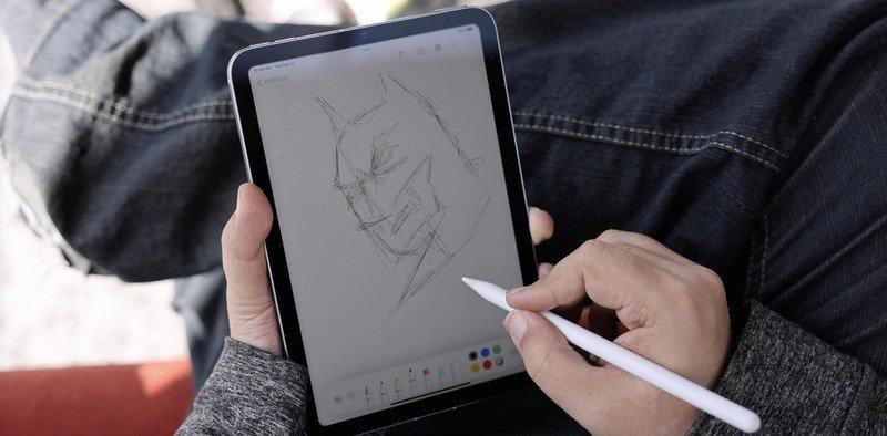 Ipad Mini 6 Crayon Batman