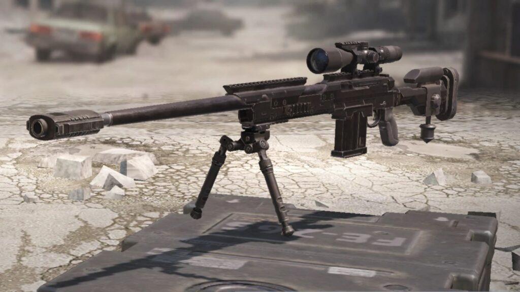 fusil de sniper dl q33 dans la saison 2 de morue mobile