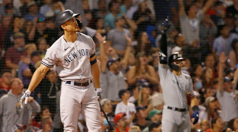 Les Yankees tirent même avec les Red Sox alors que Stanton ouvre la voie