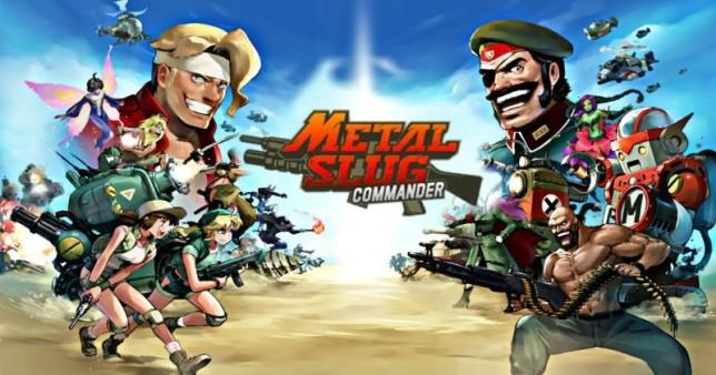 Metal Slug: illustration des clés du commandant