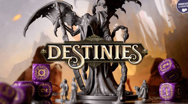 Destinies fusionne jeu de plateau et jeu mobile