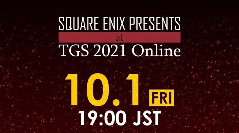 Conférence Square Enix au Tokyo Game Show 2021: date, heure et infos   Xbox One