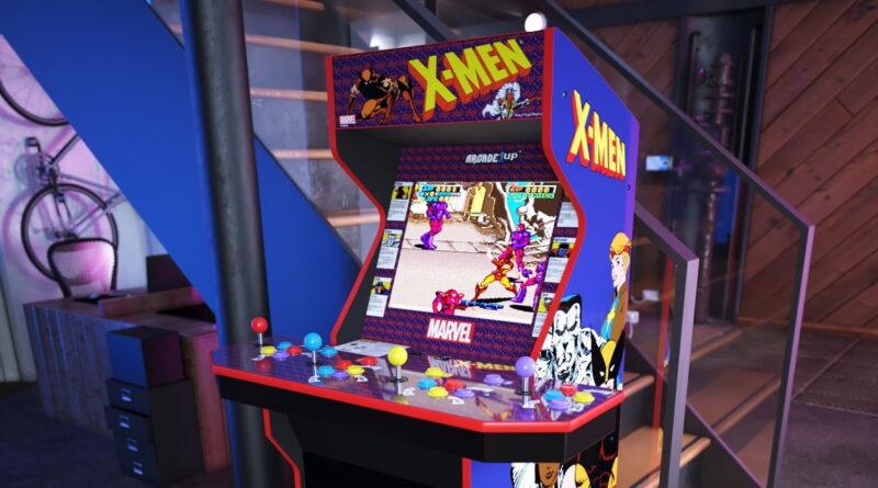 Arcade1Up révèle les tortues dans le temps, X-Men Home Arcades