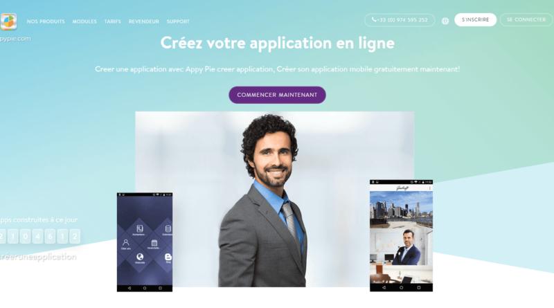 Comment créer une application mobile, Créateur d application gratuitement
